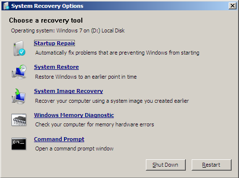 windows 7 recovery disc 1 Download Windows 7 Recovery Disk