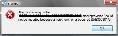 0xe800801a 0XE800801A Error SOLVED