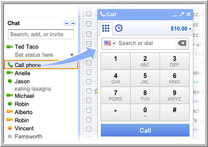 googlevoice How to make free phone calls from gmail